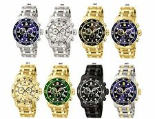 Invicta Mens Pro Diver Chronograph Watch 0070,0071,0072,0073,0074,0075,0076,0077