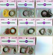 JEWELRY ART Lockets or Key Chain UFill Many Shapes 2 Pick From Quilling Craft