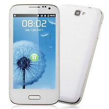 New Smart White Phone Android 4.0.4 OS SC8810 1.0GHz 4.5 Inch 2.0MP Camera S7100
