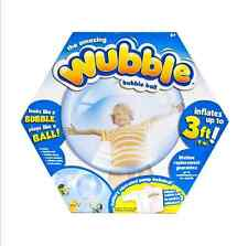 The Amazing Wubble Bubble Ball Blue inflatable rubber ball