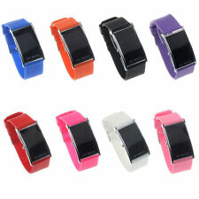 Sports Watch with LED display &Jelly Silicone band fashion for Men & Women
