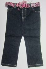 New Infant Baby Girls Denim Fashion Long Pants Size:12,18,24 Months Faded Glory
