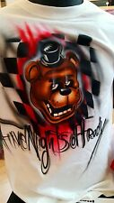 Five Nights at Freddy's Freddy personalized airbrush t shirt