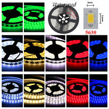 Waterproof 5630 SMD 300 LED 5M Ribbon Tape Light Flexible Strip Lamp DC 12V 90W