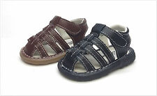 New Infant/Toddler Genuine Leather Fisherman  Sandals Size  2 ~ 7