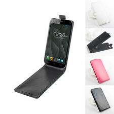 """Flip Shell Cover Leather Case Skin Hot For 5"""" Micromax Canvas Turbo Smartphone"""