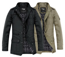 AMF031 New Mens Slim Jackets Coats Winter Designed Fashion Casual Outwear
