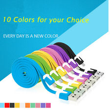 10Color 1/2M Flat Android phone Noodle Micro USB Charger Sync Data Cable Cord
