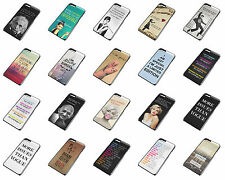 Famous Quotes iPhone 4 5 6 Plus Galaxy S3 S4 S5 Black Phone Case Cover