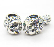 New Authentic Genuine S925 Silver ANGEL FISH CHARM Bead