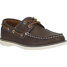 Timberland Youth Earthkeepers Seabury 3189 A Classic 2-Eye Brown Boat Kids Shoes