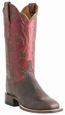 Lucchese M5819.WF Womens Cigar Brown Smooth Ostrich Western Cowboy Boots