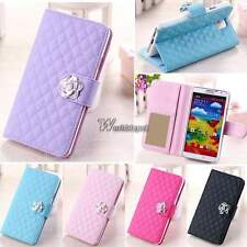 PU Leather Wallet Card Flip Cover Stand Case For Samsung Galaxy S3 S5 Note 3 WT8