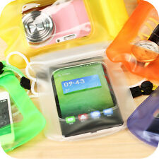 Transparent Waterproof Underwater Pouch Dry Bag For All Cell Phone Touchscreen