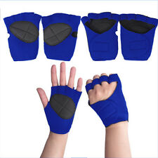 Weight Lifting Training Workout GYM Palm Exercise Fingerless Glove Good R23