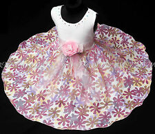 Girls girls party pageant dress age guide 3 to 4 years SD145-XL
