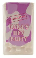 Personalised Hen Night Tic Tac Favours Party Bag Favours Gift Ideas Army Theme
