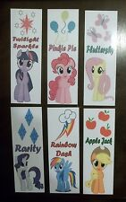 My Little Pony Laminated Bookmarks ~6 Styles to Choose From!!!  You CHOOSE!