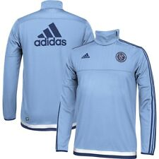 adidas New York City FC MLS 2014 - 2015 Soccer Training Top New Sky Blue