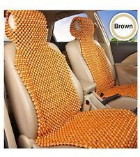 Wood Beaded Massage Seat Protector Cushion Cover For Car Truck Home Chair Cover