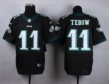 Eagles #11 Tim Tebow White Men's Stitched NFL New Elite Jersey