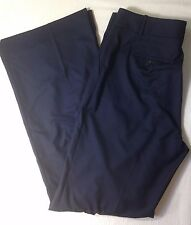 NWT J. CREW J. CREW HUTTON TROUSER IN SUPER 120S  $168 NAVY NEW WOOL PANTS 52333