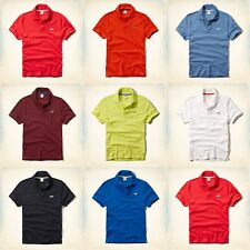New Hollister By Abercrombie Mens Polo Shirt Tee T Shirt Size S M L XL