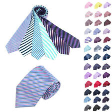 Classic Men's Dot Tie set Jacquard Woven Silk Necktie party wedding Striped tie
