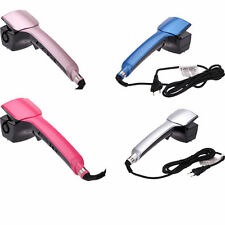 Pro Automatic Titanium Hair Curlers Curling Machine with LCD display New UK Plug
