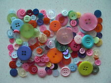 Mixed buttons mixed colours choice of weights