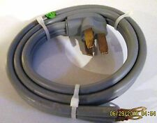50 amp Heavy Duty Replacement Electric Oven Range Power Supply Cord 4 Foot Long