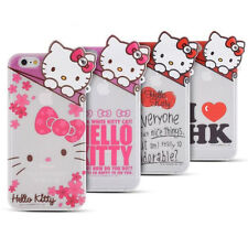 Hello Kitty iPhone 6, 6 Plus Case Cover Silicone Authentic Made in Korea 4Types