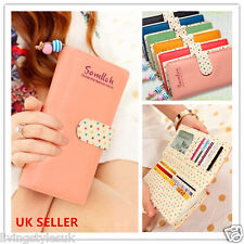 PBC Women Coin PU Leather Multi-card Bit Long Paragraph Purse Clutch Wallet Bag