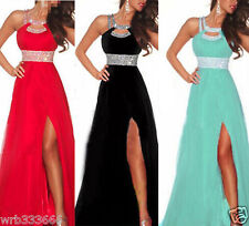 2015 Women's Chiffon Evening Gown Bridesmaid Prom Formal Party Long Maxi Dresses