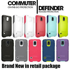 NEW Genuine Otterbox Commuter / Defender Cases for Samsung Galaxy S5