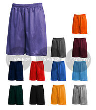 Men's Mesh Jersey Athletic Fitness Workout Colors Shorts MADE IN USA Gym running