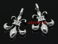 Wholesale 50/300pcs Tibetan Silver anchor Alloy Jewelry Charm Pendant 17x12mm