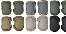 ADJUSTABLE Airsoft Tactical Combat Protective KNEE PAD Skate Knee Pads
