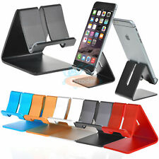 Universal Generic Aluminum Cell Phone Desk Stand Holder For Phone and Tablet