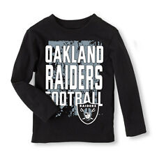 NFL Oakland Raiders  Boy or Girl Long Sleeve Shirt  Infant   Size 9-12 M NWT