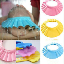 Hot New Baby Kids Shampoo Bath Bathing Shower Cap Hat Wash Hair Shield