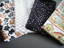 NOVELTY CAT DOG & FISHING THEME COTTON QUILT FABRIC ~ NEW & PREWASHED ~ YOU PICK