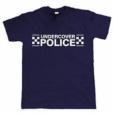Undercover Police, Mens Funny T Shirt, Great for Stag Do, Holiday or Fancy Dress