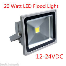 20 Watt 12-24V DC Outdoor LED Waterproof Flood Light LED Garden Street Lawn Lamp