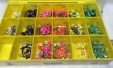 Northland Tackle- Lot 10 New,Thumper Jigs ,Walleye/Panfish, Pink, Org, Free Ship