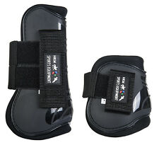 HKM TENDON & FETLOCK BOOTS SET OF 4 - HORSE PONY COB/FULL IN VARIOUS COLOURS