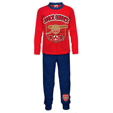 Arsenal FC Official Football Gift Boys Toddler Kids Pyjamas Red