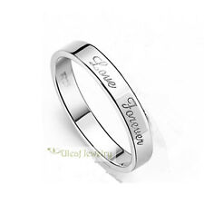 S925 Sterling Silver Love Forever Ring/18k GP/Can be Couples' Rings