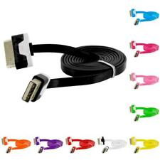 2X Noodle Flat USB Sync Data Cable Cord 3FT for iPhone 4 4S 3GS iPod Touch
