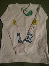 NWT Girl Scouts of America Daisy Long Sleeve NOS